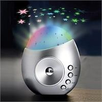 Decor Star Projector w/ Soothing Sounds-http://ponderosa.co/l1001/index.php/2015/08/21/decor-star-projector-w-soothing-sounds/