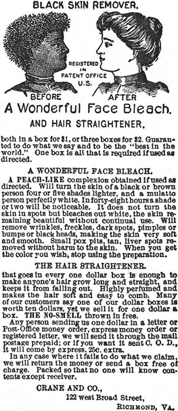 """At first glance, this is so ludicrous, it seems humorous.  On second thought, this is too stupid to be under any category of mine EXCEPT """"Those Were the Days"""".  Because it is so blatantly racist, it can't be ignored because there was a time when this was acceptable advertising....and, unfortunately, the attitude still held by too many today."""