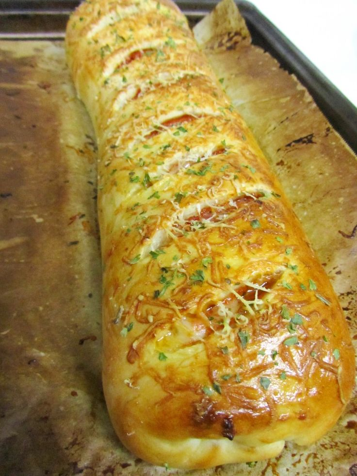 Stromboli Recipe ~ Marvelous!