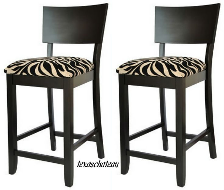 30quot contemporary style furniture 2 black zebra bar stools  : de590486bc28e7fd89e521d0c43265f7 from pinterest.com size 736 x 624 jpeg 43kB