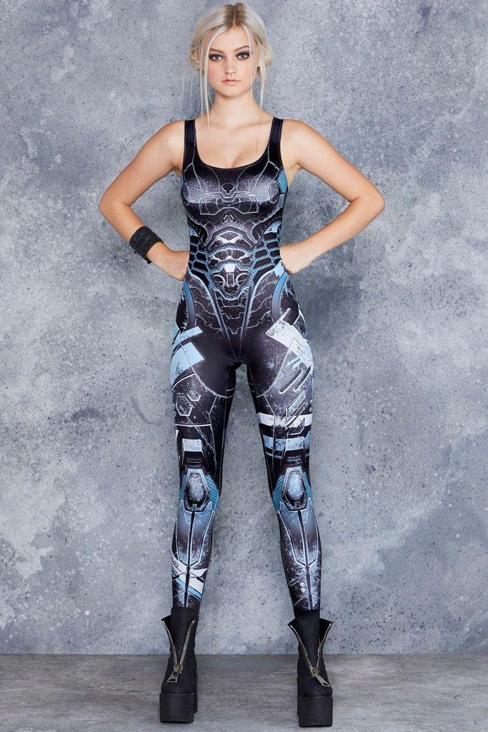 Mecha Catsuit ($120AUD) by BlackMilk Clothing