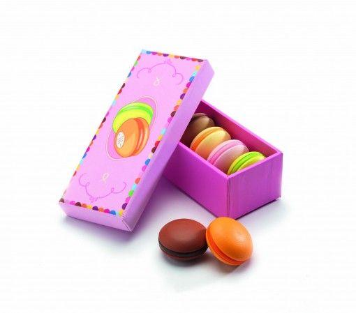 Djeco wooden macarons #playfood