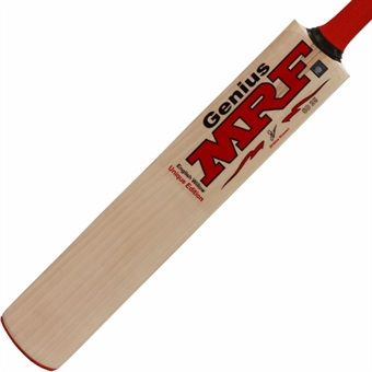 A Shikhar Dhawan ton set up a big win for India against South Africa on Sunday.   Here's his blade, the MRF Shikhar Genius Unique Edition Cricket Bat: premium quality English willow, lightweight and optimum balance.