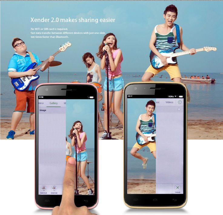 EU Direct | (UK Warehouse) DOOGEE VALENCIA 2 Y100 5-inch MTK6592 1.4Ghz Octa-core Smartphone