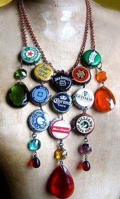 collier capsules bière