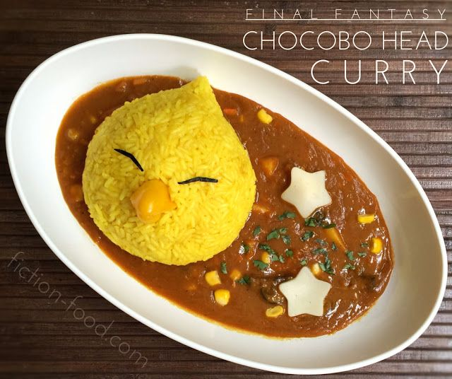 "Food Adventures (in fiction!): Chocobo Curry for ""Final Fantasy"""