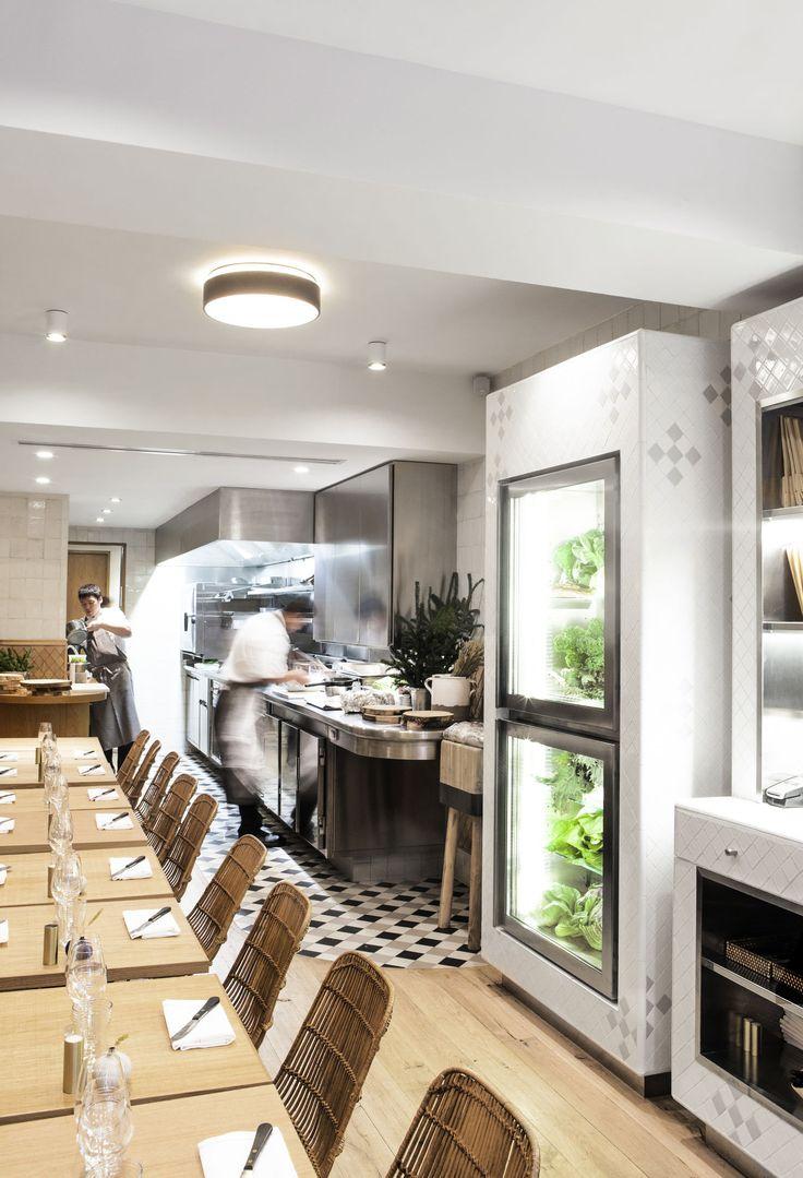 Cloverleaf Home Interiors. Fashion s Favorite Restaurant in Paris  Clover on the Left Bank The 25 best restaurant ideas Pinterest bank