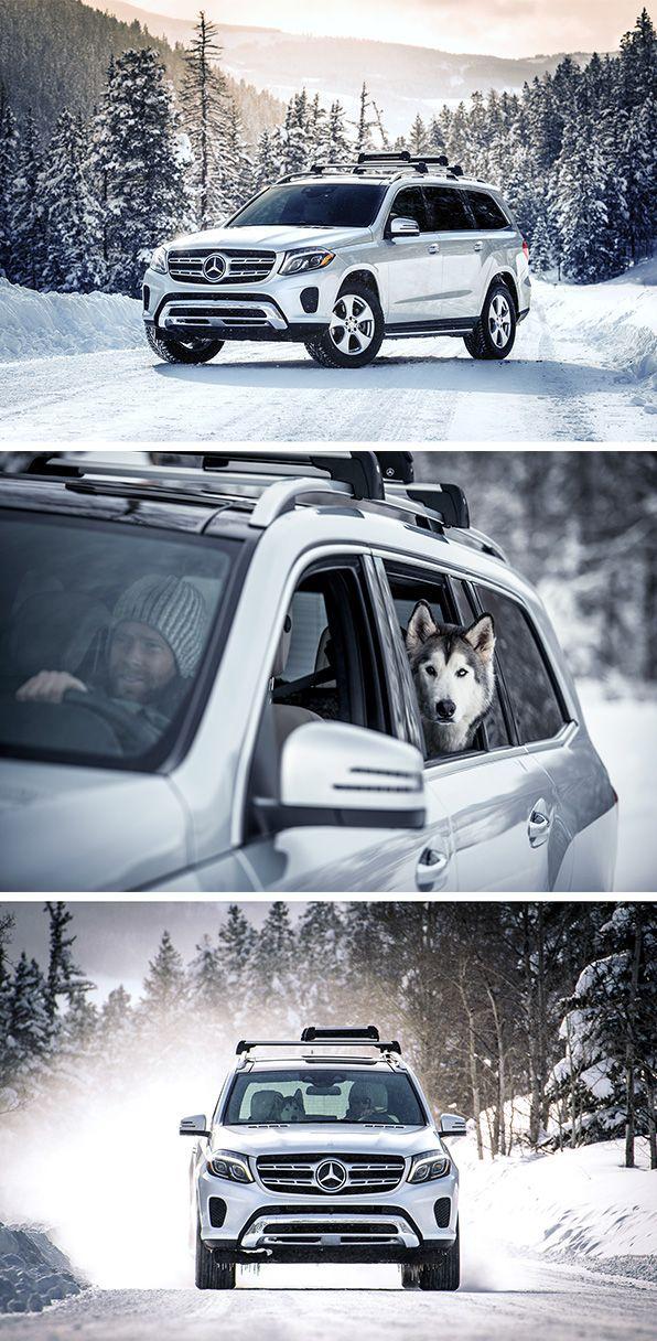 Trent Bona (www.trentbona.com) and internet star Loki the Wolfdog on an aventure with the Mercedes-Benz GLS. Photos via Mercedes-Benz USA #mbphotopass.