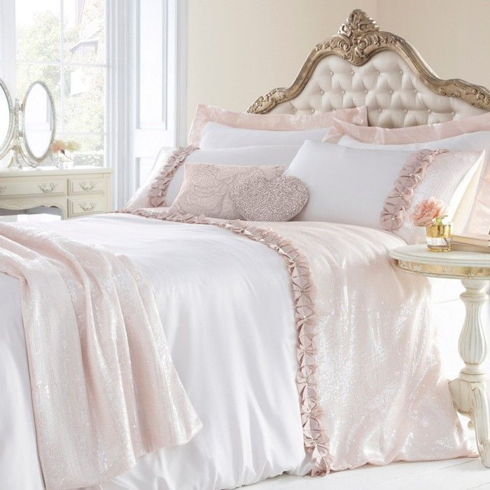 Star By Julien Macdonald Pale Pink Lille Bed Linen