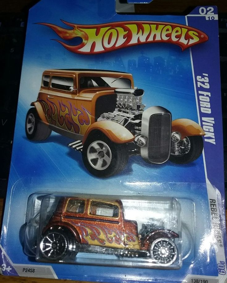 Hot Wheels '32 Ford Delivery, '32 Ford Vicky #HotWheels #Ford