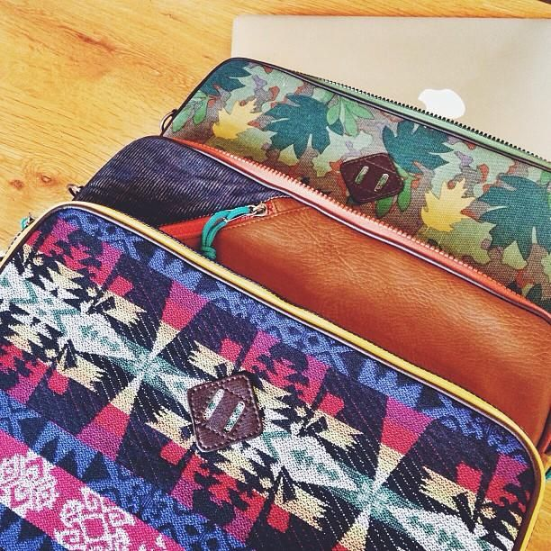 Sweet laptop cases from Hester St. Trading Co. online now! #laptop #pattern #urbanoutfitters