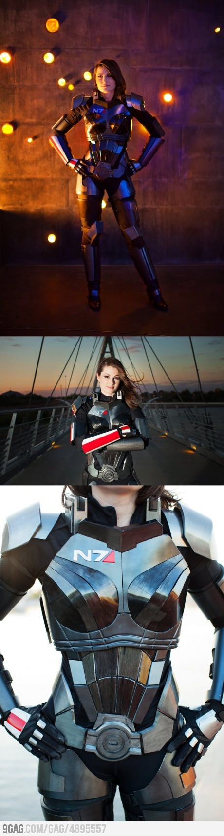Awesome Mass Effect 3 N7 Armor (Femshep) wish I could have this for Halloween. I love it.