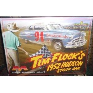 Moebius Models Tim Flock's 1952 Hudson Stock Car 1/25th Scale Model Kit: Car 1 25Th, Scale Model, Models Tim