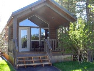 West Yellowstone Cabin Rental: New 2 Bdrm Yellowstone Cabin W/king & Bunk Beds, Kitchenette | HomeAway