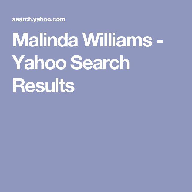 Malinda Williams - Yahoo Search Results