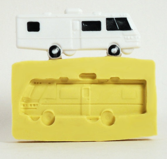 Camper Or Rv Silicone Craft Molds