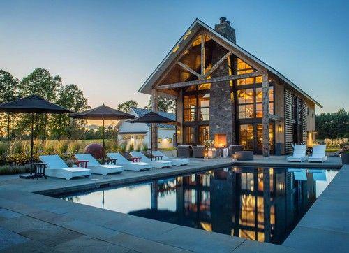 'Cornwall farmhouse.' TruexCullins Architecture + Interior Design, Burlington, VT.