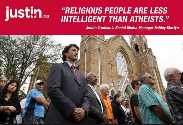 Trudeau is an idiot!! WISE MEN STILL SEEK HIM!