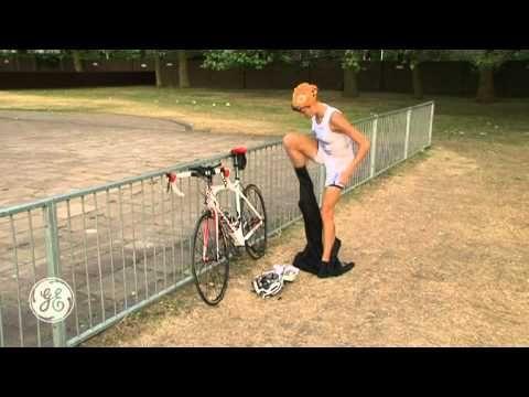 Triathlon Tips: Swim to bike transition tips- Marc and Helen Jenkins Tips Series