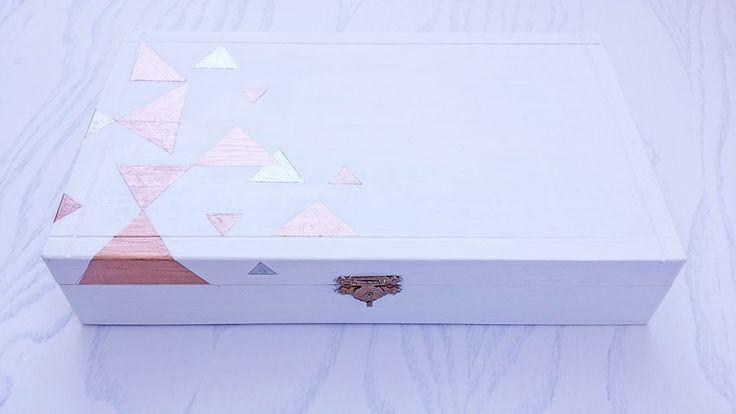 DIY Geometric Jewelry Box