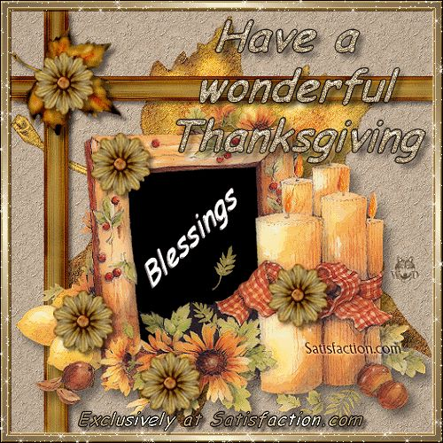 Have a Wonderful Thanksgiving