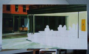 2a vooruitgang replica Nighthawks - KunstReplica
