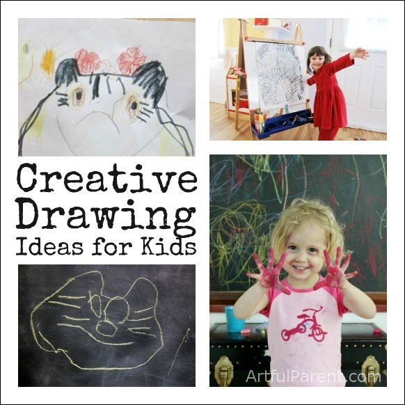 Gallery for creative drawing ideas for kids - Creative ideas for kids art ...