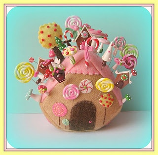 What a lovely pincushion, dressed in all it's awesomeness!