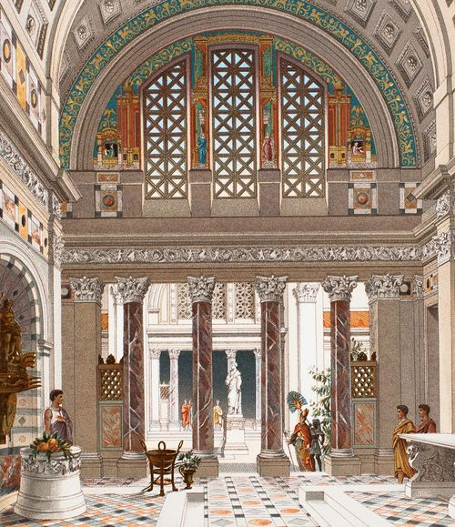Interior of a Roman Palace (1888)