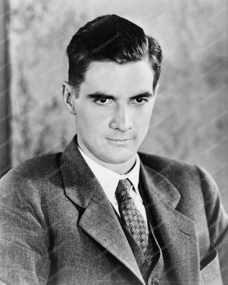 Howard Hughes Handsome Portrait 1930s 8x10 Reprint Of Old Photo