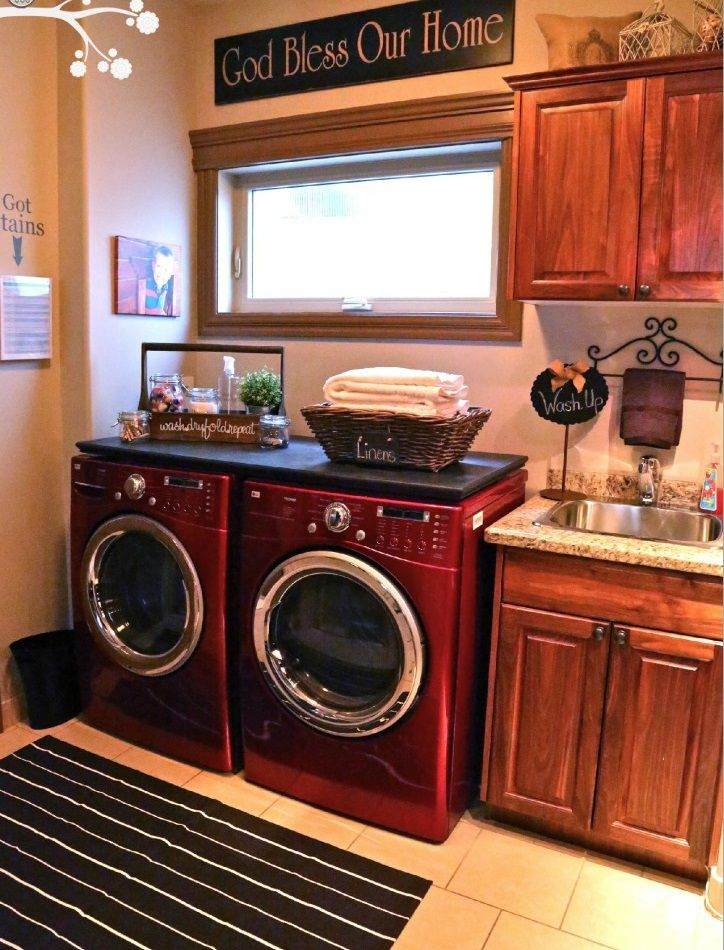 Country laundry room for the home pinterest for Country laundry room