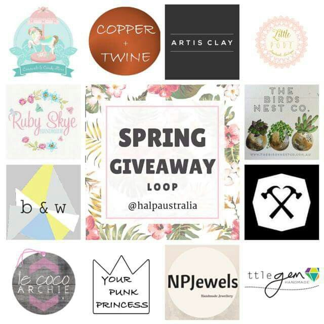 Take a look at our Spring Giveaway over on our Instagram @halpaustralia. So many talented businesses taking part!