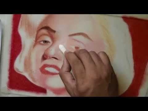 Retratos al Pastel Tecnicas paso a paso para principiantes. - YouTube