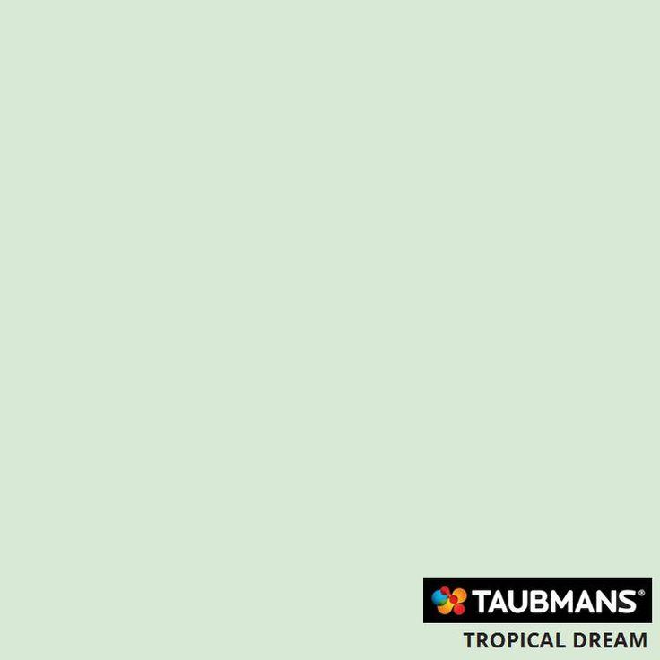 #Taubmanscolour #tropicaldream
