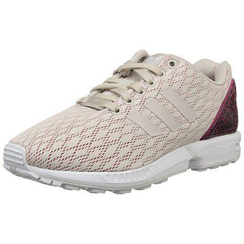 Adidas ZX Flux W - Zapatillas de Running para Mujer, Color Azul Marino/Blanco, Talla 36 2/3
