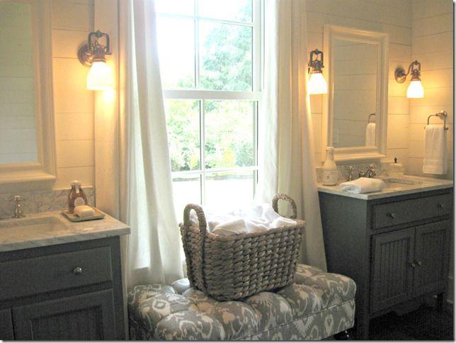 ..: Dining Rooms, Bathroom Colors, Houses 2012, Dreams Bathroom, Bath Vanities, Girls Bath, Living Houses, Draping In Bathroom, Cottages Bathroom