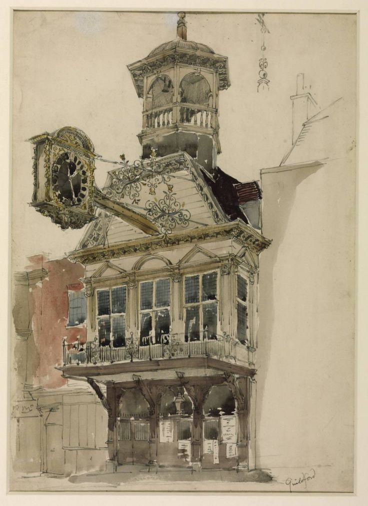 William Richard Lethaby 'Guildford', date not known