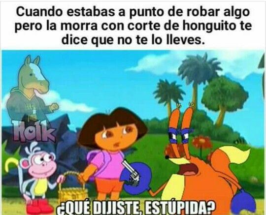 Pinche Dora que az echo!