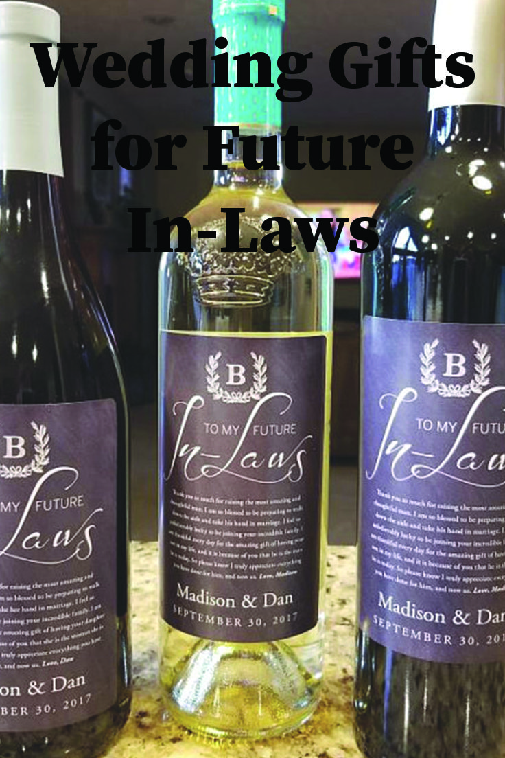wine wedding shower gift poem%0A Give a gift of wine to your future in laws with personalized labels    future in laws  future in laws gift  wedding gift  wedding wine  in law  gift