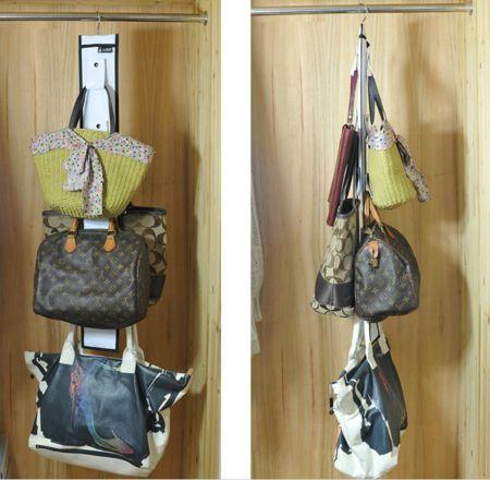 Hanging Purse Storage Closet Organizer, Plus Lots Of Other Pocketbook  Storage Ideas {featured On