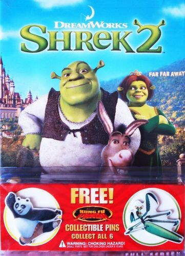 Shrek 2 [P&S] [With 2 Kung Fu Panda Pins] [DVD] [2004]