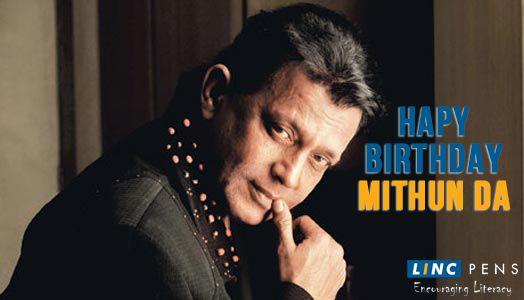 #LincPens wishes the veteran actor #MithunChakraborty a very Happy Birthday!