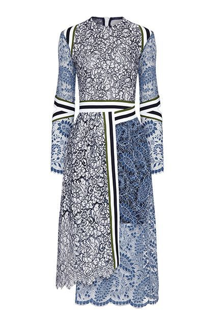 For when you accompany your S.O. to a formal family function (for the first time!). #refinery29 http://www.refinery29.com/fall-party-dresses#slide-15