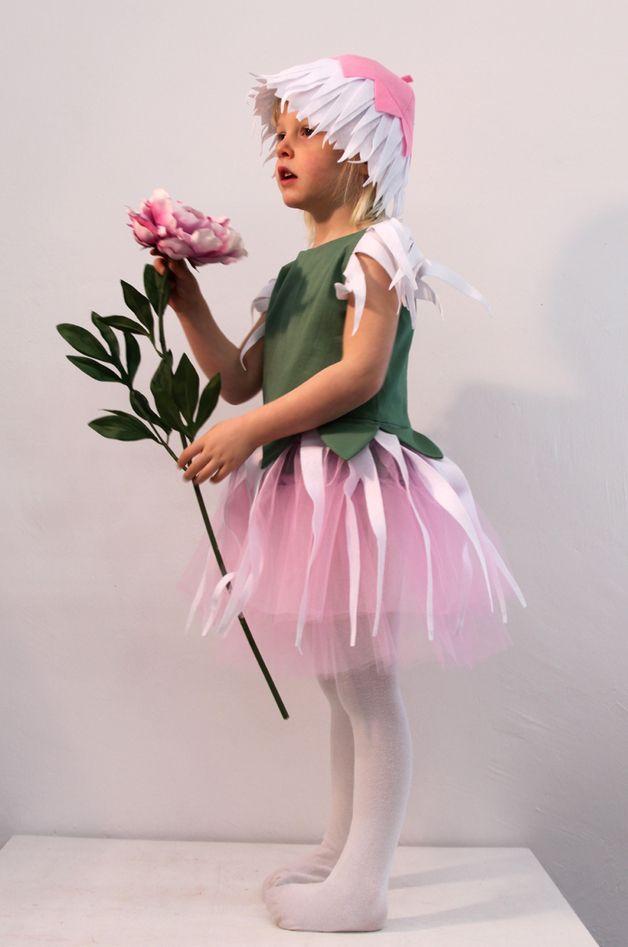 """Kostüme für Kinder - Elfenkostüm """"Nella Nelke"""", Kinderkostüm,... - ein Designerstück von IdaElfe bei DaWanda"""