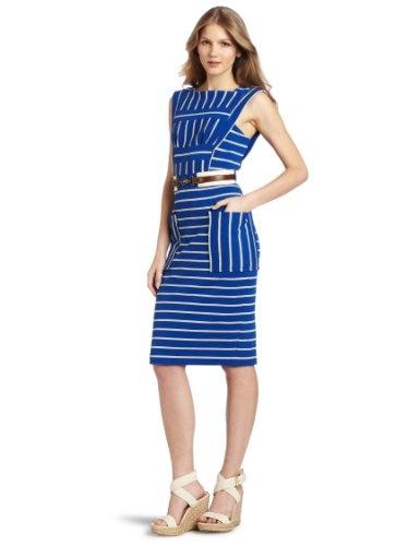 Tracy Reese Women's Directional Stripe Dress $263.00