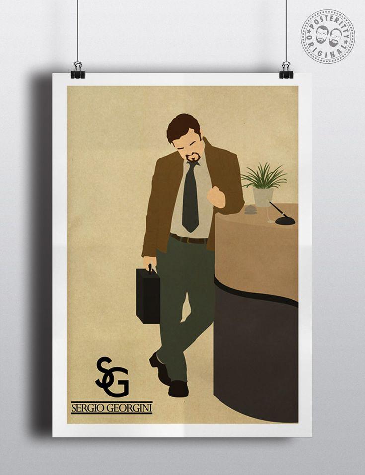 #posteritty #theoffice #rickygervais #davidbrent #quote #poster #brentsback #sergiogeorgini #jacket #funny #comedy