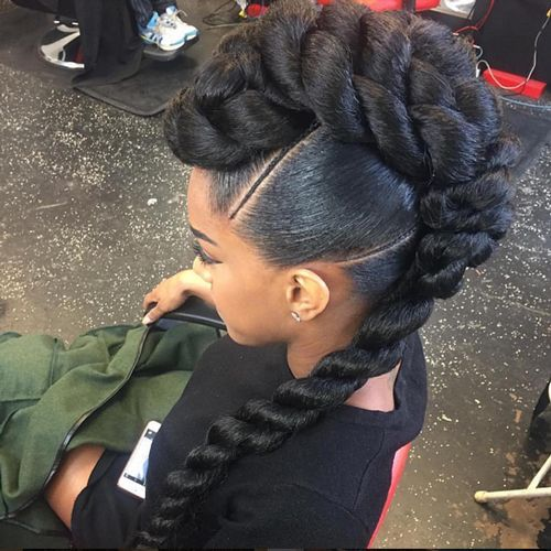 24 best African American braided updo hairstyles images on Pinterest ...