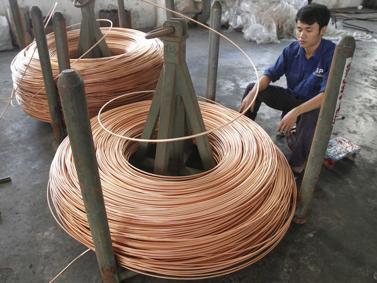 #Copper is waving a red flag for #China's #Economy ~