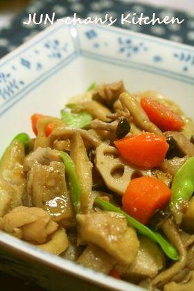 ほっこり煮物*うちの筑前煮 by JUNちゃン [クックパッド] 簡単おいしいみんなのレシピが259万品