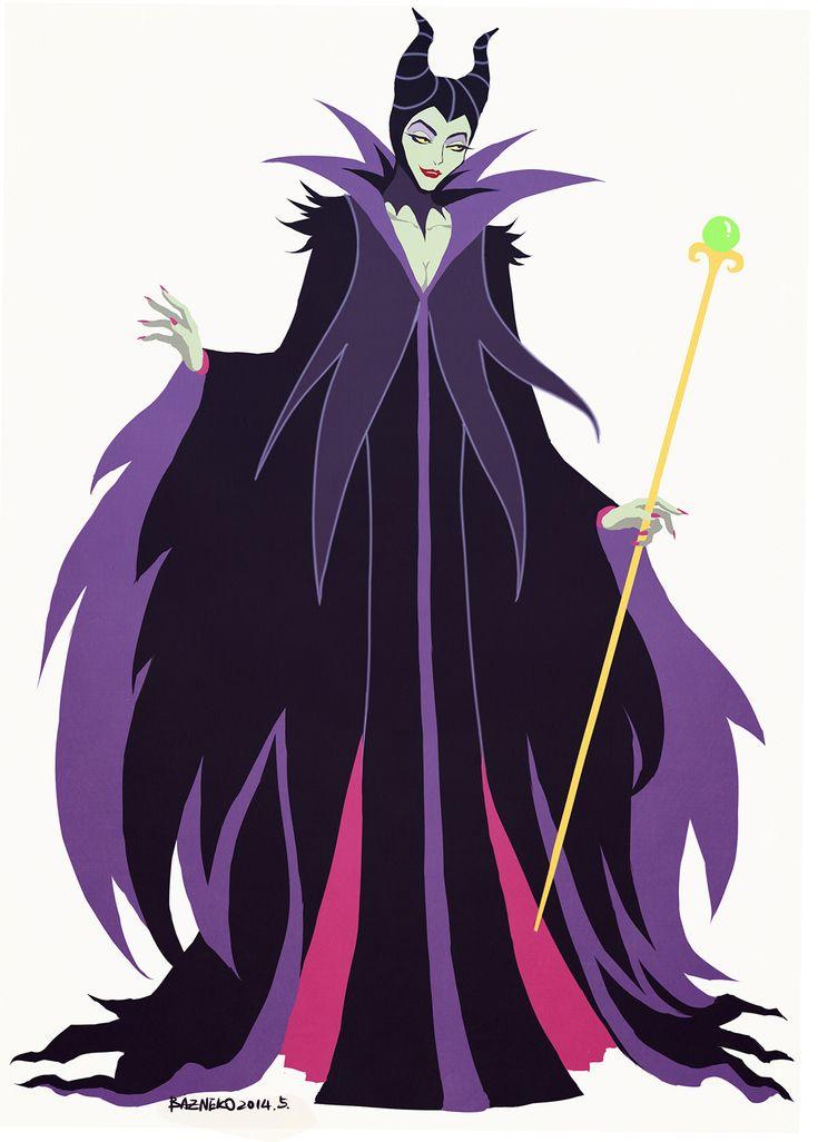 Maleficent by Baz Neko [©2014]